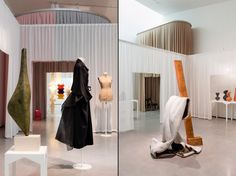 Disobedient Bodies exhibition by JW Anderson at The Hepworth Wakefield gallery, Yorkshire - UK