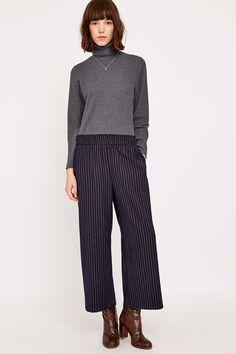 Light Before Dark - Pantalon à fines rayures