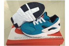 buy popular 55f0f c4e0e Nike Air Huarache Run PRM Aluminium Black White New
