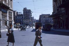 Athens-1953 Greece Pictures, Old Pictures, Athens, Street View, Vintage, Antique Photos, Old Photos, Vintage Comics, Athens Greece