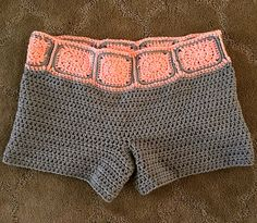 Crochet Shorts Pattern These shorts are adorable the pattern is offered in different sizes. Crochet pattern.