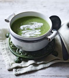 This simple soup is on the table in less than half an hour. Serve with plenty of buttered toast