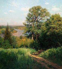 Душевные пейзажи Станислава Брусилова