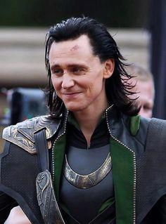 Loki (Tom Hiddleston) GET OUT YOU GORGEOUS NYMPH YOU