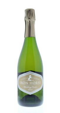 Rich and creamy, like pure strawberries and cream, this is without doubt the most romantic of our Sparklings. It is dangerously easy to drink. A favorite for many, Iron Horse is probably best known for this cuvée. https://www.drync.com/bottles/2009-iron-horse-vineyards-wedding-cuvee/curate