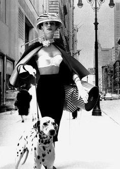 The Nifty Fifties — Maidenform, 1956. Photo by Lillian Bassman.