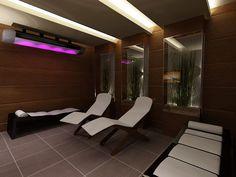 Pokój relaksacyjny – Projekt wnętrz i aranżacja #projekt-spa #nowoczesne-projekty #projektowanie-wnetrz #architektura-wnetrz #architekt #łódź