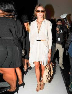 @Olivia Palermo // transitioning to fall