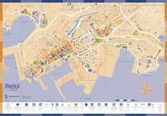 Mapa de Ferrol