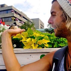 keithharkin Told you the birds like me. st.johns canada #canada #ontheroad #ontour #birds