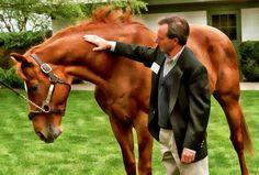 Affirmed with Jockey Steve Cauthen