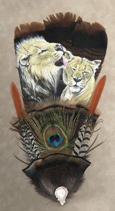 Lion Love by dittin03.deviantart.com