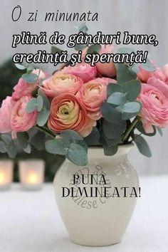 Good Morning, Glass Vase, Wish, Thinking About You, Buen Dia, Bonjour, Good Morning Wishes
