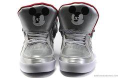 アディダス X ディズニー アディ-ライズ ミッキーマウスX アングリ ミッキー メンズ シルバー/レッド Adidas X Disney adi-RISE MICKEY X ANGRY MICKEY men silver/red ADI0