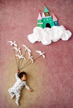 Une maman taïwanaise (Queenie Liao) imagine les rêves de son bébé. #bébés #rêves
