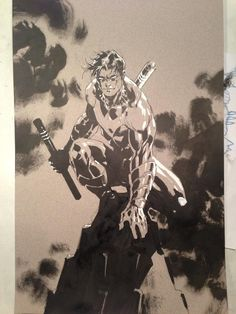 Twitter / JimLee: here I add highlights using whiteout.Hard to fix mistakes on colored paper w/white
