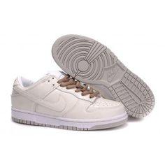 Køligt Nike Dunk SB Low Beige Hvid Unisex Skobutik | Nyeste Nike Dunk SB Low Skobutik | Nike Skate Skobutik Butik | denmarksko.com