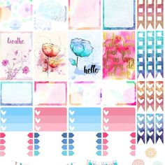 One 6 x 8 sheet of paisley weekly spread planner stickers cut and ready for use in your Erin Condren life planner, Filofax, Plum Paper, etc! To Do Planner, Mini Happy Planner, Cute Planner, Journal Stickers, Printable Planner Stickers, Washi, Planner Supplies, Planner Organization, Belle Photo