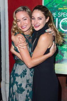 Pin for Later: 6 überraschende Fakten über Oscar-Gewinnerin Brie Larson Sie hat jede Menge prominenter Freunde Dazu zählen Shailene Woodley, Kristen Stewart und Anne Hathaway.