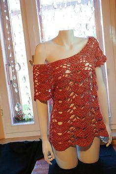 Crochet Lace Blouse. Gorgeous. Love this.