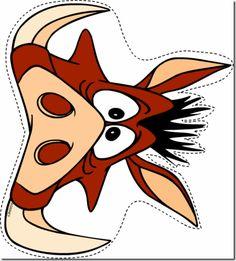 mascara infantil timon y pumbas - Cerca amb Google