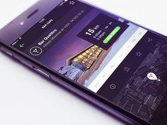 Dribbble - Place Info by Gleb Kuznetsov✈ - via #designhunt