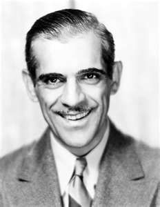 """Boris Karloff. Along with fellow actors Lon Chaney, Bela Lugosi and Vincent Price, Karloff is recognized as one of the true icons of horror cinema, and the actor most closely identified with the general public's perception of the """"monster"""" from the classic Mary Shelley book, """"Frankenstein"""". http://www.imdb.com/name/nm0000472/bio"""