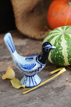 Gerd Hiort Petersen - Vintage Soholm Bird Candle Holder - Denmark by FridasVintage on Etsy