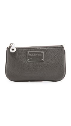 Marc By Marc Jacobs New Too Hot To Handle Key Pouch - Faded Aluminum | SHOPBOP.COM saved by #ShoppingIS