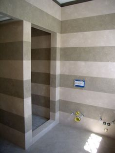 0007 REALIZZATO progetto bagno doccia in pietra fossil green e adria, design by blancomarmo.it