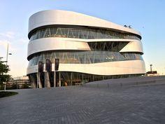 Mercedes Benz, Opera House, Social Media, Clouds, Night, Building, Travel, Viajes, Buildings