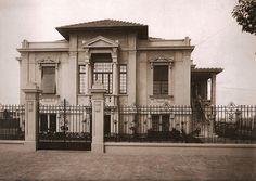 São Paulo Antiga — 10 Casarões da Avenida Paulista para matar saudades: Residência de Mário Dias de Castro – 1923, Escritório Técnico Ramos de Azevedo