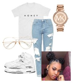 """""""Untitled #10"""" by mickeyandminnieluv on Polyvore featuring Topshop and Michael Kors"""