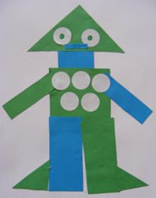 Shapes robot