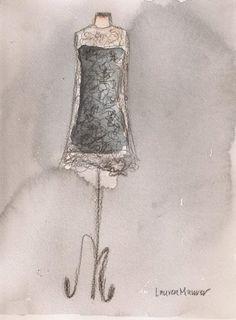 [ Vintage Olivia Dress ] by Lauren Maurer