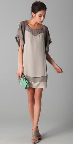 DVF dress. if anyone knows me well, you know beige/greige is MA COLOR. $375