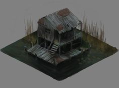 Swamp house by Sobeks.deviantart.com on @DeviantArt