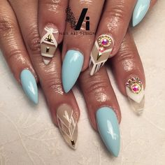 Nails, nails on fleek, fancy nails, stiletto nails, pretty nail desig Sexy Nails, Dope Nails, Fancy Nails, Stiletto Nails, Fabulous Nails, Gorgeous Nails, Pretty Nails, Pretty Nail Designs, Nail Art Designs