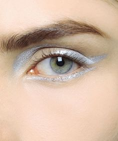 silver liner at christian dior fall 2013