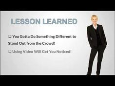Get Hired with Video - Video Resume Success Story on The Ellen Show. How a video resume turned a woman's job search into success!