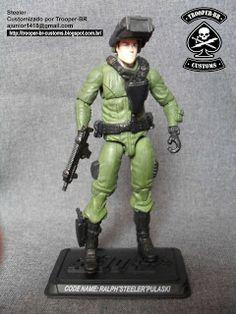 Gi joe Custom Action Figures: Steeler