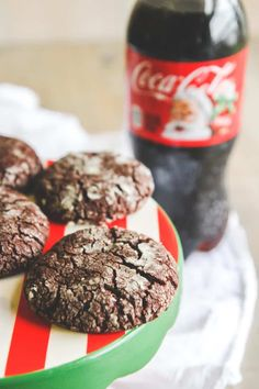 For all those last minute holiday gatherings I'm going to show you how to put together the perfect Holiday party spread and how to make the best ever Christmas cookies – Coca-Cola brownie crinkle cookies!
