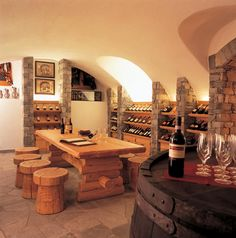 Riffelalp Wine Cellar, Switzerland