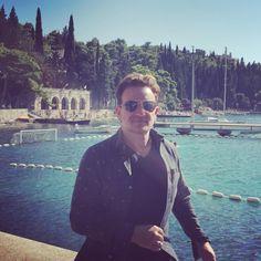 Bono in Cavtat, Croatia, August 12th, 2016 (via)
