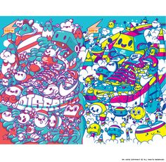 We Run Mexico Kids by Mr. Kone, via Behance