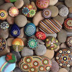 Hand Painted Rocks                                                       …