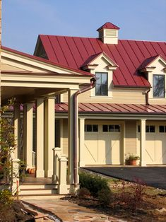 Traditional Exterior Tin Roof Design, Pictures, Remodel, Decor and Ideas - page 20