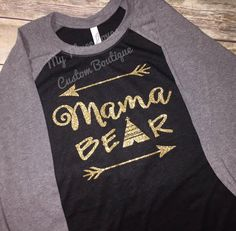 1eff6abd Items similar to Mama Bear Raglan, mama bear shirt, momma bear shirt,  baseball tee, Plus Size, Mothers Day, mom shirt, triblend, arrow shirt, mom  to be, ...
