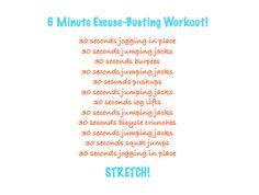 6min workout