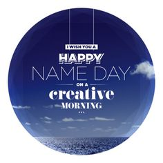Happy name day on a creative morning. For kostas and eleni (greek name day) Happy Name Day Wishes, Happy Birthday Wishes, Birthday Cards, Greek Name Days, Greek Names, Family World, Adorable Quotes, Graphic Design Posters, Diy Cards